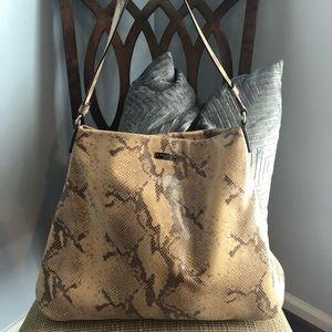 Kate Spade Snakeskin Hobo bag